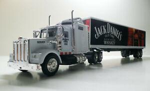 Kenworth W900 Semi Trailer 1/43 Trucks  Jack Daniels Custom Graphics Diecast