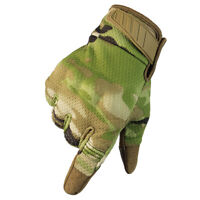 Motorcycle Glove Touch Screen Tactical Riding Hiking Breathable Camouflage Glove
