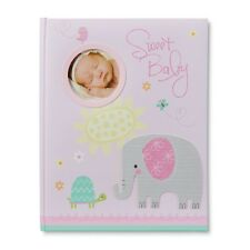 First Infant Baby Girl's New Keepsake Memory Book Photo Album Top Quality
