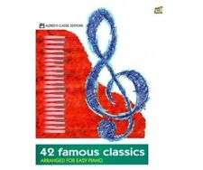 42 FAMOUS CLASSICS ARRANGED FOR EASY PIANO (ALFRED´S CLASSIC EDITIONS)