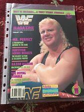 WWF WWE Magazine February 1993 Mr Perfect WCW VGC Wrestling Vintage