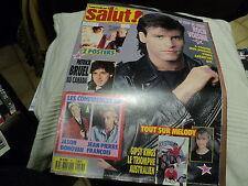 "REVUE ""SALUT N°57 - 1990"" Roch VOISINE, Jean-Pierre FRANCOIS, Patrick BRUEL"