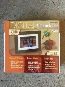 Smartparts Digital Picture Frame 7 inch LCD Display NEVER OPENED!