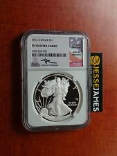 2012 S PROOF SILVER EAGLE NGC PF70 ULTRA CAMEO RARE MERCANTI SIGNED! KEY DATE