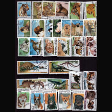 Cats Cambodian Stamps