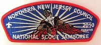 NORTHERN NEW JERSEY COUNCIL OA 9 MARVEL BSA 100TH 2010 SCOUT JAMBOREE FALCON JSP