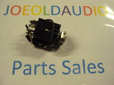 "Kenwood KR 6160 MIC Jack Left or Right. 1/4"". Tested.  Parting Out KR 6600."