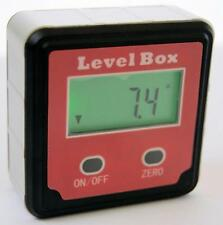 DIGITAL LEVEL BOX ANGLE GAUGE MEASURE THE ANGLE ON ALMOST ANY SURFACE / CHRONOS