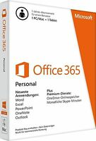 Microsoft Office 365 Personal - 1 PC / 1 MAC + 1 Tablet - PKC - Multilingual