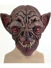Adult Evil Vampire Bat Overhead Rubber Mask Fancy Dress Halloween Horror Latex