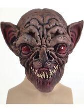 Adult Evil Vampire Bat Overhead Rubber Mask Fancy Dress Halloween Horror Latex