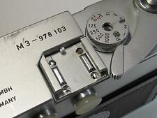 Four screws set for Leica M3 M2 accessory-shoe repair parts