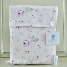Rachel Ashwell Simply Shabby Chic ANTIQUE GARDEN Rose Buds PINK Sheet Set QUEEN