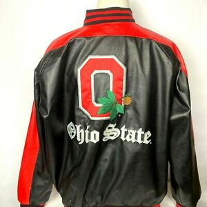 Mens Steve & Barry's Ohio State OSU Jacket Buckeyes Embroidered Size XL