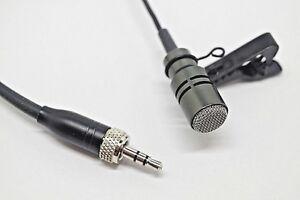 TIE CLIP LAPEL MIC LAVALIER MICROPHONE EW100 EW300 EW500 G2 G3 For Sennheiser