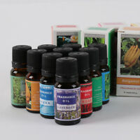 10ml Fragrance Aroma Essential Oils 100% Pure Natural Aromatherapy Essential Oil