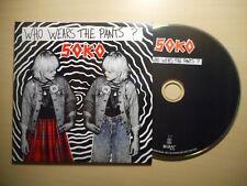 SOKO : WHO WEARS THE PANTS ? [CD SINGLE]