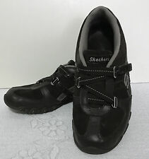 SKECHERS women Bikers Speedsters Athletic synthetic suede SHOES size 7.5M   L465