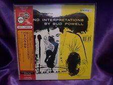 Piano Interpretations by BUD POWELL- David Stone Martin Jazz Japan MINI LP CD