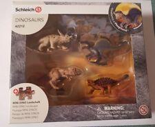 Schleich 42212 Mini Dinosaur Set with Puzzle! New!