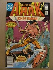 Arak Son of Thunder #1 Dc Comics 1981 Series 9.2 Near Mint-