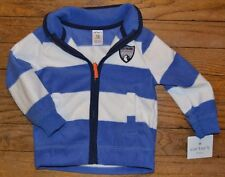 Carter's Full zip winter fleece jacket Size 12 Months Brand New with Tags