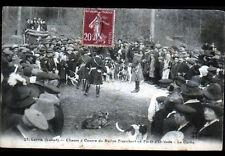 LORRIS / FORET d'ORLEANS (45) CHASSE à COURRE du RALLYE FRANCHORT période 1920