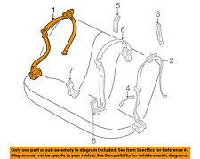 BMW OEM 00-01 X5 Rear Seat Belt-Rear Belt Assembly Right 72118259008