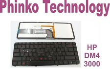 *New* Keyboard for HP Pavilion dm4-3000 dm4-3100 Series With Backlight and Frame