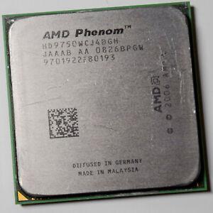 AMD Phenom X4 9750 Quad Core AM2+ 2.4GHz 95W 65nm Agena Processor HD9750WCJ4BGH