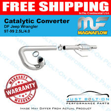 Magnaflow Catalytic Converter DF Jeep Wrangler 97-99 2.5L/4.0 - #23227