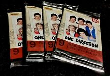 2013 PANINI ONE DIRECTION LOT OF (4) TRADING CARD PACKS