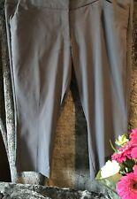Ladies PLUS SIZE 16 Pants 3/4 Moda Charcol to Grey by Target RP $40