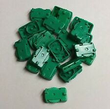 """22 Tudor Electric Football """"SOFT"""" Dark Green TTC bases in Good Working Condition"""