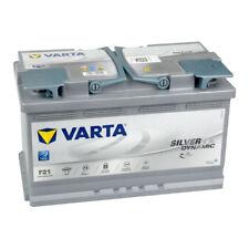 VARTA Silver Dynamic AGM Autobatterie 12V 80Ah F21 Start-Stop Plus 580901080