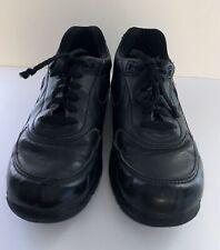 Men's NEW BALANCE MW810BK Size 8.5 2E Wide Leather Walking Sneaker w/Rollbar