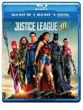 Justice League (2017) (2 Disc, 3D Blu-ray + Blu-ray) 3D BLU-RAY NEW