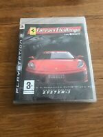 Ferrari Challenge PS3 Game Sony Playstation 3 Trofeo Pirelli Racing New Sealed