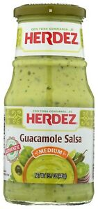 Herdez Guacamole Salsa Medium 15.7 oz