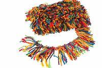 Multicolor Tassel Fringe Woolen Trim 5 Yard Headpiece Decor Embroidery Cloth