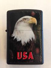 Más ligero ZIPPO Águila USA Aquila América Estados Unido más Fuego 024 13F017
