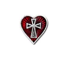 Sacred Heart Stud Earring - Alchemy Gothic Jewellery E262
