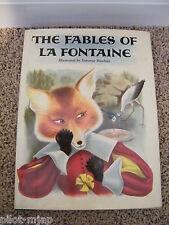 1957 ~ The Fables of La Fontaine ~ HB Book  Editions Casterman Tournai-Paris