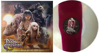 The Dark Crystal Vinyl Record Soundtrack Tri Color Split LP Trevor Jones Mondo