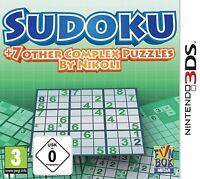 NINTENDO 3ds Sudoku + 7 Other Complex Rompecabezas NUEVO Y EMB. orig.