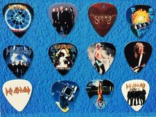 DEF LEPPARD  Guitar Picks Set of 12