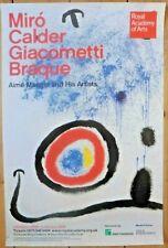 Original RA Poster Miró, 2009