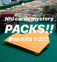 NHL HOCKEY CARDS PACKS! AT LEAST 1 HIT PER PACK - JERSEYS - AUTOS - MEGA HITS