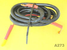 Deans Wet Noodle Flex 12-Gauge Red / Black Terminal Wires, 2ft
