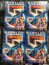 Babylon 5 CCG Set of 4 Starter Decks - Earth, Minbari, Narn and Centauri OOP
